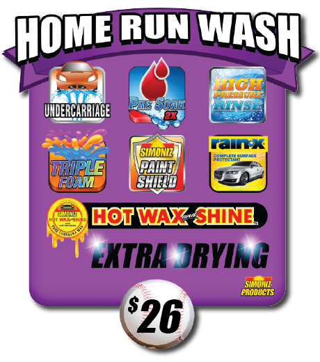 Triple Play Home Run Express Car Wash