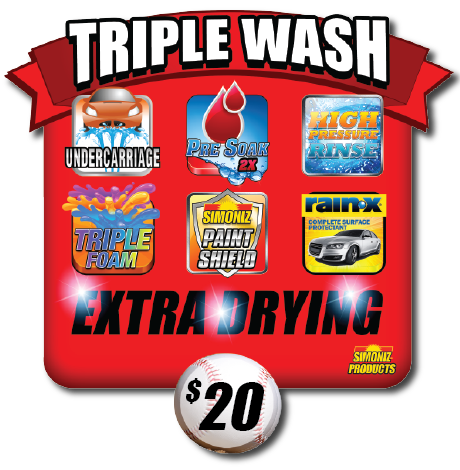 Triple Play Triple Express Car Wash