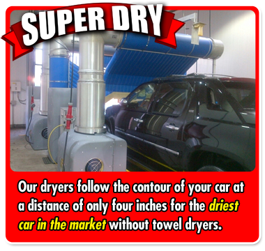 Triple Play Home Run Express Car Wash Super Dry